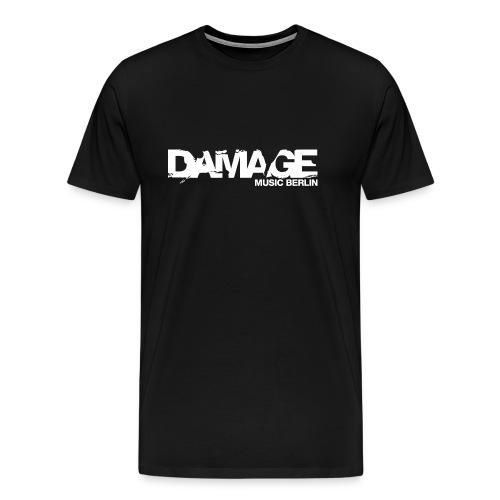 Damage Label Logo Shirt Men Deluxe (Continental) - Men's Premium T-Shirt