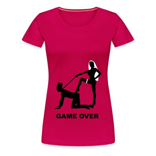 A Game OVER  - Women's Premium T-Shirt