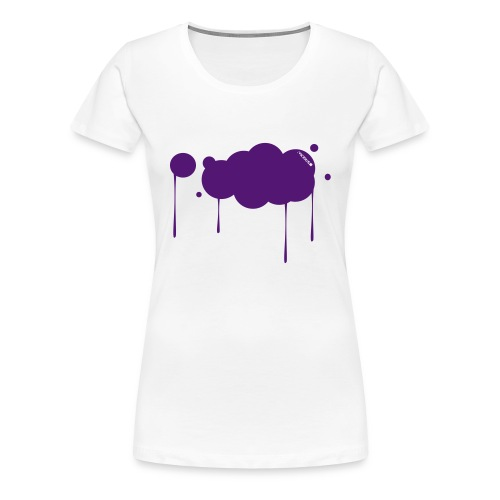 Colour Cloud t-Shirt - Frauen Premium T-Shirt