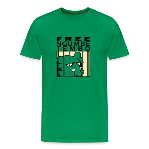 Free Ngumbe schwarz - For Boys - Männer Premium T-Shirt