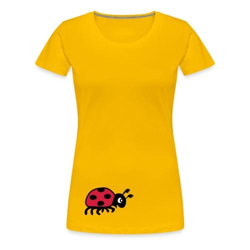 tier t-shirt marienkäfer glückskäfer marini  insekt glück liebe - Frauen Premium T-Shirt