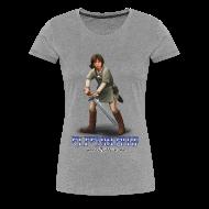 T-shirts ~ Vrouwen Premium T-shirt ~ T-shirt Elfenblauw