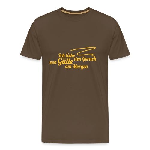Gülle - Männer Premium T-Shirt