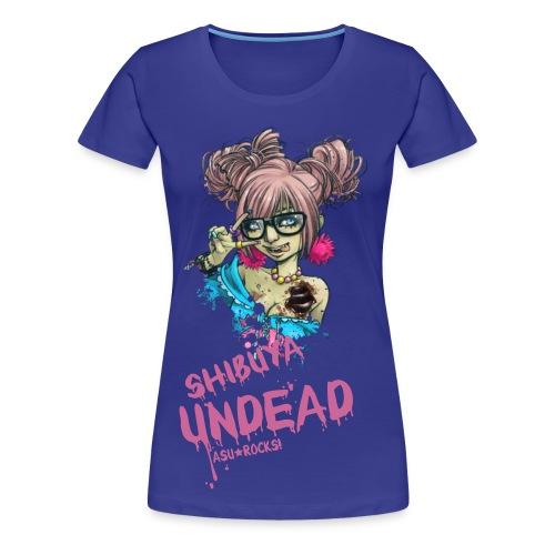 SHIBUYA UNDEAD colorful classic - Frauen Premium T-Shirt