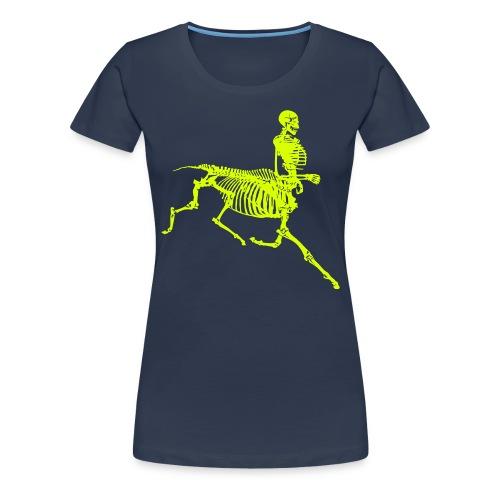 centaur skeleton - Koszulka damska Premium