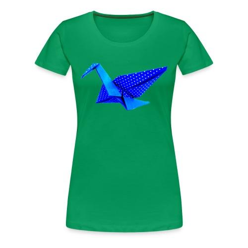 Kranich  - Frauen Premium T-Shirt