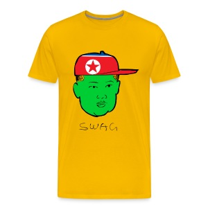 Green  - North Korea - Men's Premium T-Shirt