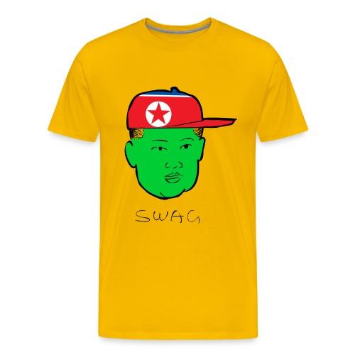 Green  - North Korea - Men's Premium T-Shirt