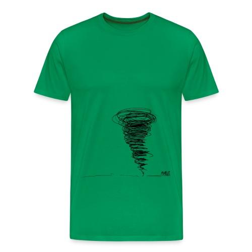Twister - Maglietta Premium da uomo