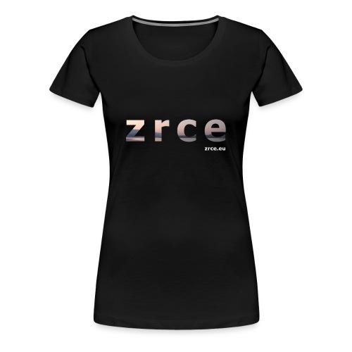 Zrce 2013 Black Girl - Frauen Premium T-Shirt