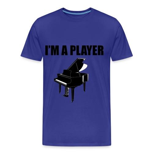 I'm a player - Mannen Premium T-shirt