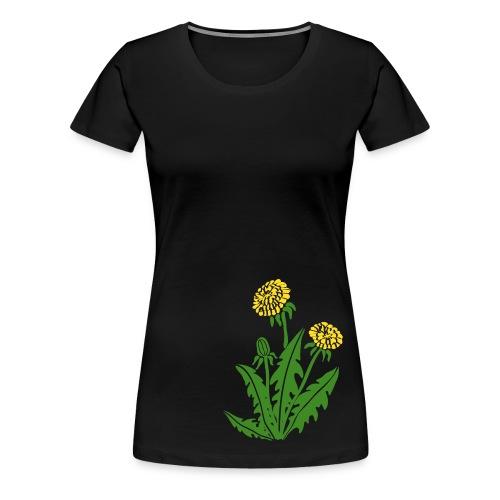 t-shirt löwenzahn dandy lion pusteblume butterblume natur blume - Frauen Premium T-Shirt