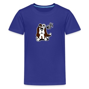 Wuff Wuff - Teenager Premium T-Shirt