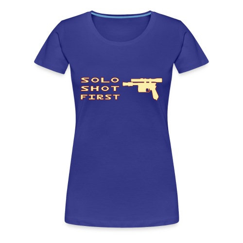 Solo Shot 1st - XX - Maglietta Premium da donna