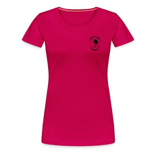 Girly sf Chest Original Invert - Women's Premium T-Shirt