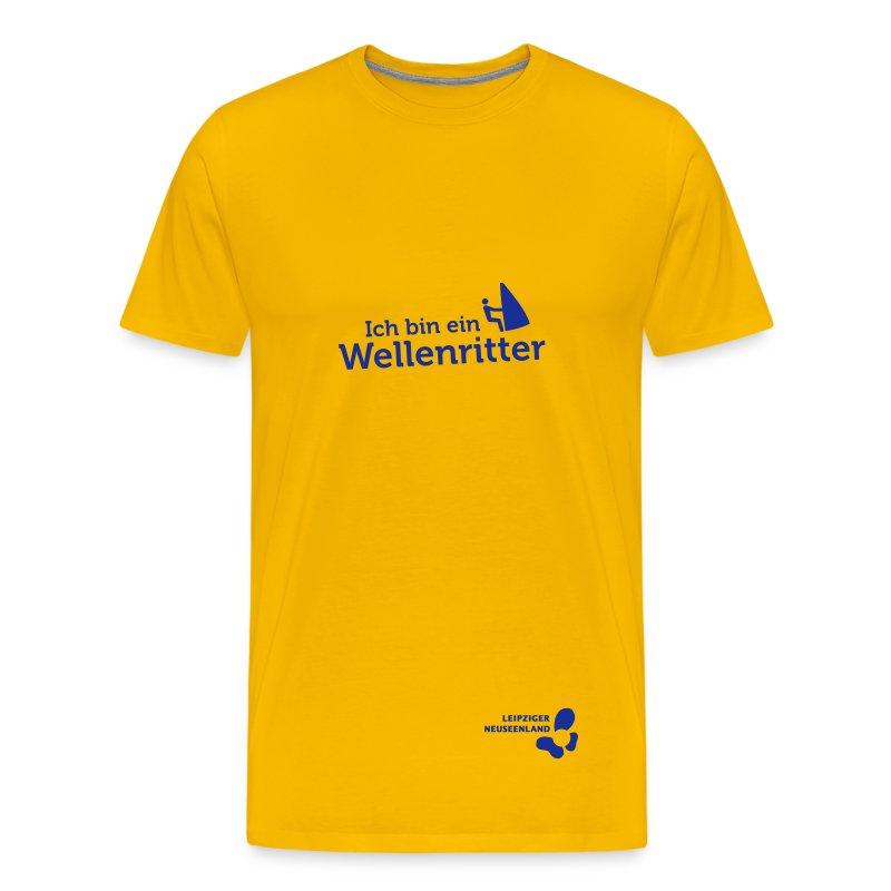 Männer-T-Shirt Wellenritter - Männer Premium T-Shirt