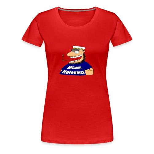 T-Shirt Kapitän Girlieshirt - Frauen Premium T-Shirt