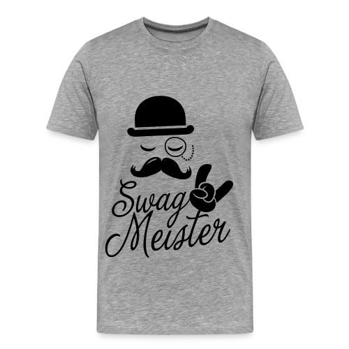 Swag Meester Shirt - Mannen Premium T-shirt
