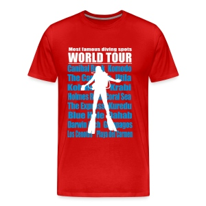 Maxi World Tour 3A 5XL -Imp Flex+Logo dos - T-shirt Premium Homme