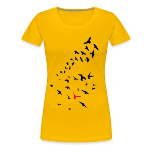 Flock of Birds - Women's Premium T-Shirt