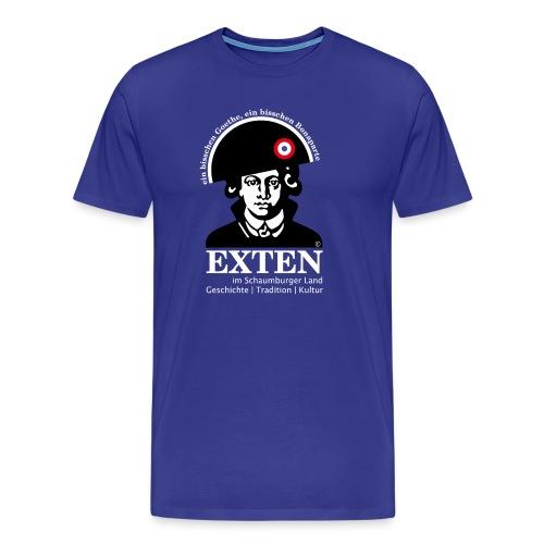 *SONDEREDITION* Exten Shirt-Goethe Man classic front - Männer Premium T-Shirt