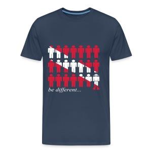 be different...dive-Imp.Flex+Logo Dos - T-shirt Premium Homme
