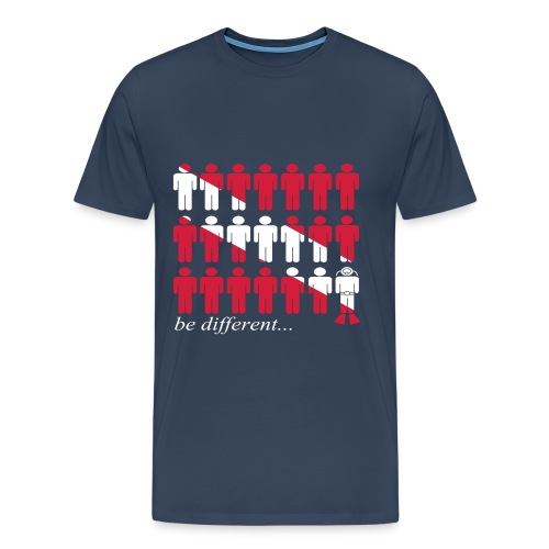 be different...dive-Imp.Flex+Logo Dos - T-shirt Premium Homme