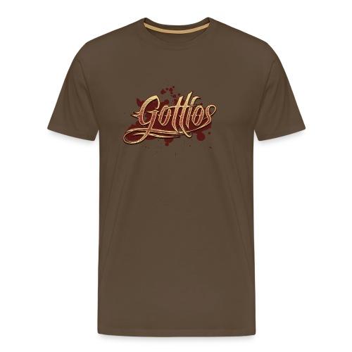 Gottlos - braun - Männer Premium T-Shirt