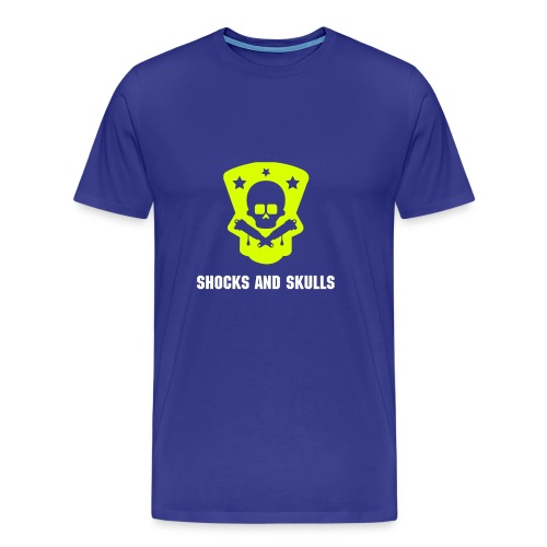 Shocks and Skulls - Männer Premium T-Shirt
