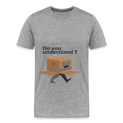 Metal Gear Solid culture Boy Gray - T-shirt Premium Homme