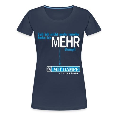 IG-ED Mädels-Shirt MEHR - Frauen Premium T-Shirt