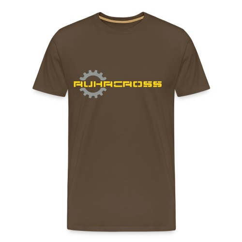 Ruhrcross Shirt Zahnrad - Männer Premium T-Shirt