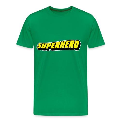 Shirt SuperHeroe - Camiseta premium hombre