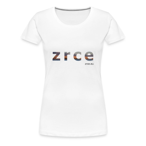 Zrce 2013 White Girl - Frauen Premium T-Shirt