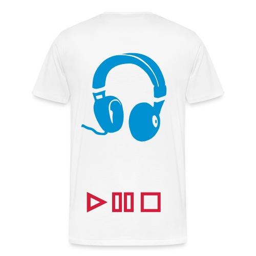 T-shirt music - Mannen Premium T-shirt