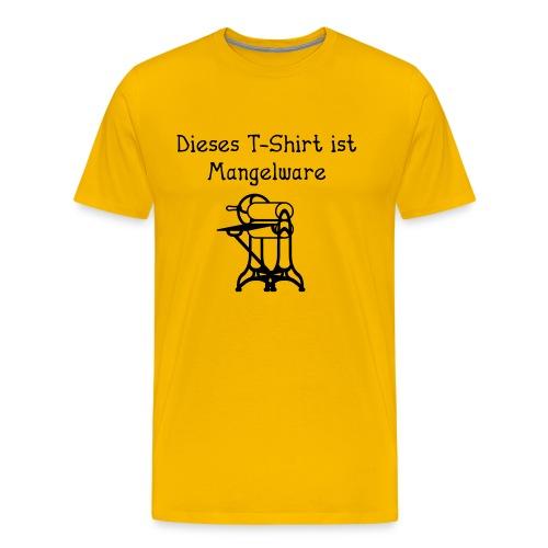 Dieses T-Shirt ist Mangelware - Männer Premium T-Shirt