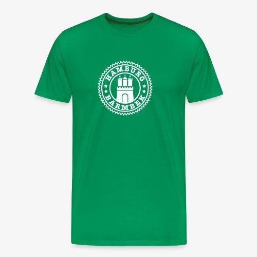 HAMBURG Barmbek - Hamburger Wappen Fan-Design HH Männer Shirt - Männer Premium T-Shirt
