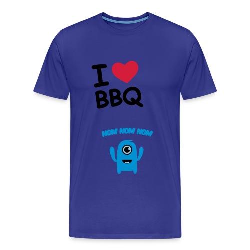 BBQ NOM NOM NOM - Mannen Premium T-shirt