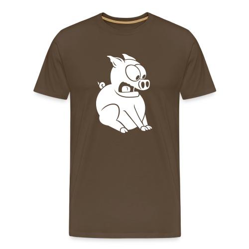 pigslide - Männer Premium T-Shirt