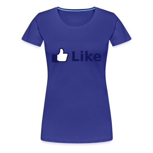 womens facbook lover shirt - Women's Premium T-Shirt