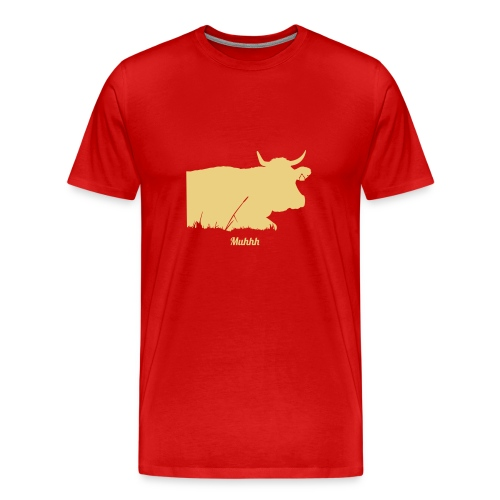 Muhhh - Männer Premium T-Shirt