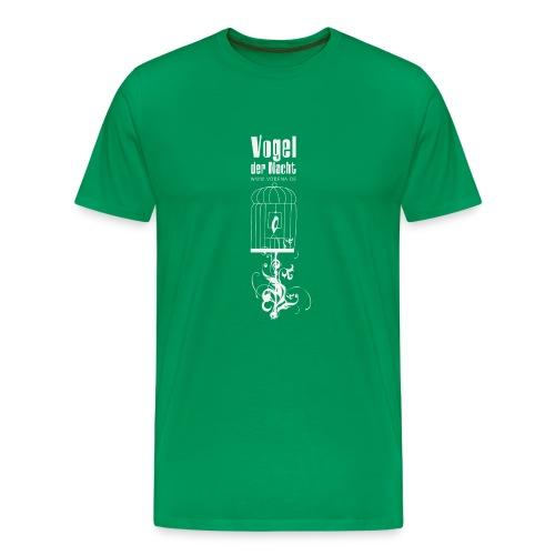 Vogel der Nacht Herren-Shirt Käfig - Männer Premium T-Shirt