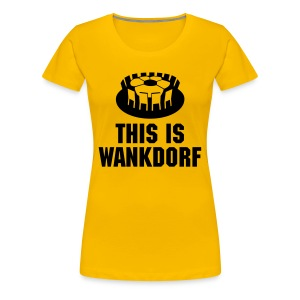 wankdorf - Frauen Premium T-Shirt