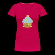 T-Shirts ~ Frauen Premium T-Shirt ~ Blümchencupcake