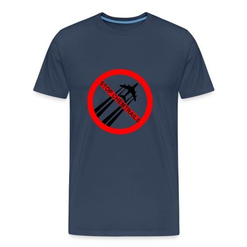 stop chemtrails - Maglietta Premium da uomo