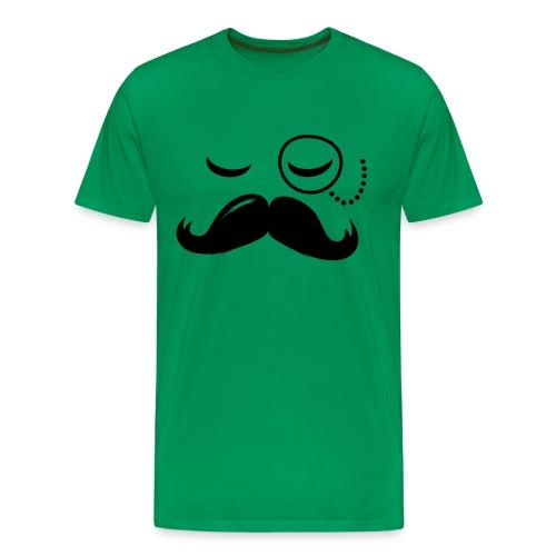 T-shirt Homme Moustache - T-shirt Premium Homme