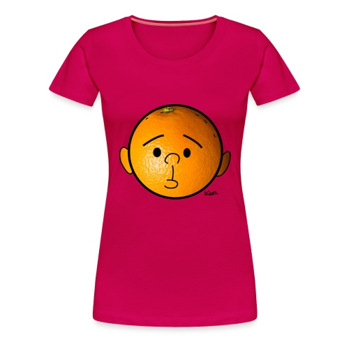 Bigger Orange Head - Women's Premium T-Shirt