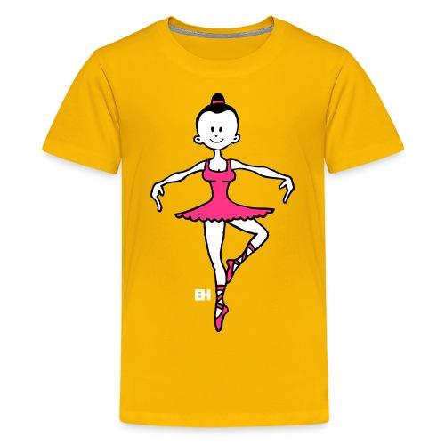 Ballet dancer - Teenage Premium T-Shirt