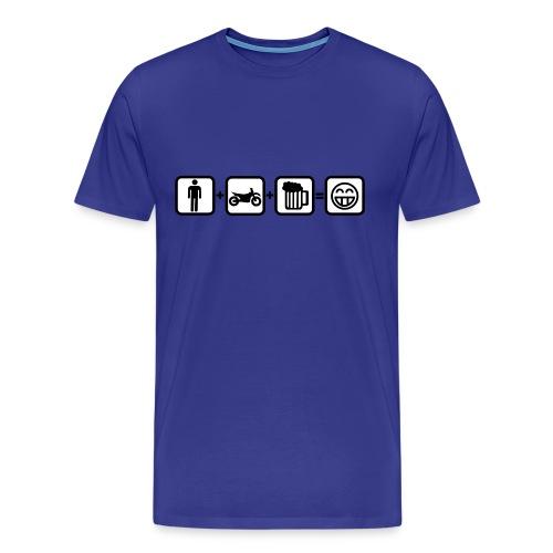 Biker Bill for real Men FlexShirt HQ - Männer Premium T-Shirt