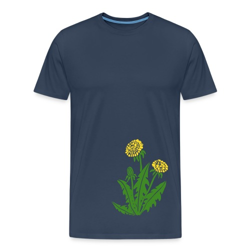 t-shirt löwenzahn dandy lion pusteblume butterblume natur blume - Männer Premium T-Shirt